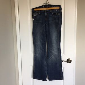 7 for all mankind size 28 jeans